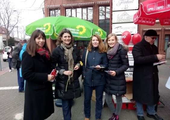 Infostand in Bad Cannstatt