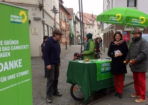 DANKE-Stand in Bad Cannstatt